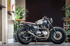Triumph Bonneville by Down and Out Cafe Racers