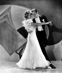 Fred Astaire & Ginger Rogers dance the Carioca in Flying Down To Rio (1933), the movie that made them stars.