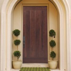AvantGuard Flagstaff Finished Smooth Fiberglass Prehung Front Door with No Brickmold-10324 - The Home Depot & Masonite Barrington Flagstaff one panel entry door with AvantGuard ...
