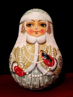 Matryoshka Doll, Kokeshi Dolls, Painted Gourds, Doodle Coloring, Hand Painted Ornaments, Fabric Beads, Doll Crafts, Fabric Dolls, Doll Patterns