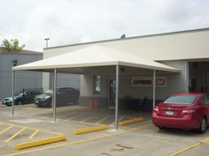 #canopies #awnings #dealership