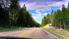 Road trip - Finland, Jämsä - Petäjävesi - Jyväskylä