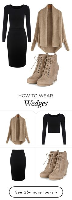 """beige queen"" by cool10cat on Polyvore featuring Alexander McQueen and Modest"