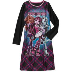 Black Friday Only! Monster High Girls' Pajama Nightgowns