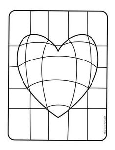 Make this Op Art Heart with step-by-step instructions. Send some Heart Art for Valentines. Op Art Lessons, Art Lessons Elementary, Bridget Riley Op Art, Optical Illusion Quilts, Optical Illusions, Arte Elemental, Classe D'art, Art Cube, Illusion Art