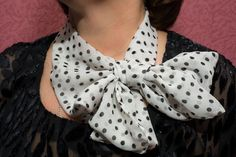 French kerchief with own hands
