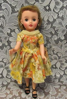 "Vintage Rare Size ""Miss Revlon Doll"" In Original Tag Outfit 14"" Circa 1956"