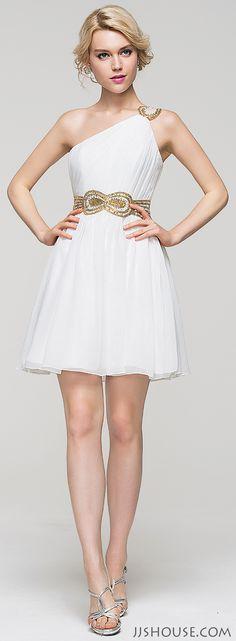 Let your inner goddess shine in this Greek Goddess-inspired dress. #JJsHouse