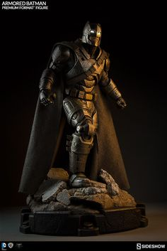 The Armored Batman Premium Format Figure is now available at Sideshow.com for fans of Batman v Superman: Dawn of Justice and Ben Affleck.