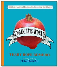 Have you ever had thoughts of becoming vegan gourmet chef? Me neither ;) Anyhow, this  cookbook will help you whip up gourmet vegan meals from around the world at home. Some recipes may be time consuming, but that should not stop you from making a meal of you dreams. After all, you get to taste world cuisine without spending money on that plane ticket.