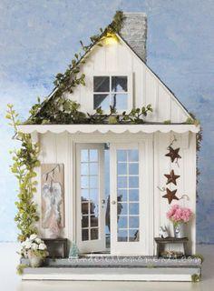 Angel Studio Cottage de maison de poupée par cinderellamoments