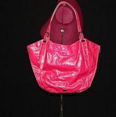 Kooba Blake Tote in Hot Bright Pink | eBay