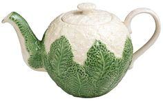Tea Service and More - Cauliflower Teapot