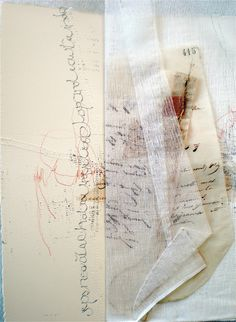 Mixed Media Textile Art, Artist Study with thanks to Textile artist Stéphanie Devaux Textus Resources for Art Students , CAPI ::: Create Art Portfolio Ideas at milliande.com , Art School Portfolio Works