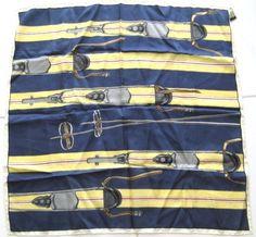 Vintage Ski Scarf Ski's Poles All Silk Made in Italy for Handcraft Inc   eBay