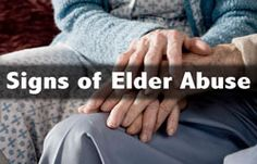 As seniors age and become more dependent on others for care, they also become more vulnerable to abuse, neglect and exploitation.
