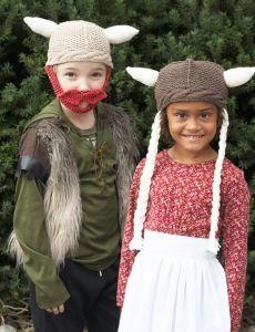 7043-Hagar & Helga Hats
