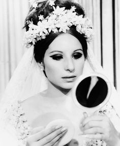 Barbara Streisand as the pregnant bride. This whole segment of the most beautiful girl is pure camp. Golden Age Of Hollywood, Vintage Hollywood, Classic Hollywood, Divas, Leighton Meester, Katniss Everdeen, Gossip Girl, Barbara Streisand, Hello Gorgeous