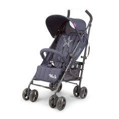 Child Wheels Superstar -rattaat, 159,95 €. Taitettavat rattaat tummanharmaassa värissä ja trendikkäällä tähtikuviolla selkänojassa. Ilmainen kotiinkuljetus! #lastenrattaat #rattaat