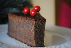 "I am not Guyanese, but I NEED black cake at Christmas time. You will never poke fun at ""fruitcake"" again.*****Poke salad Poke, Poke salad, poke salat, or poke sallet may refer to: Christmas Desserts, Christmas Baking, Christmas Time, Black Christmas, Holiday Cakes, Holiday Treats, Christmas Recipes, Christmas Gifts, Food Cakes"