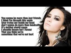 Demi Lovato - Something That We're Not - Lyrics - YouTube