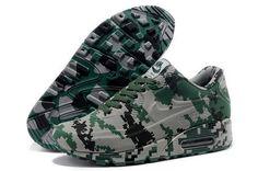 f320273911cdb Nike Air Max 90 Vt Unisex Colorful Green Gray Running Shoes Hong Kong Nike  Air Max
