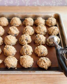 Congelar diferentes masas de galletas