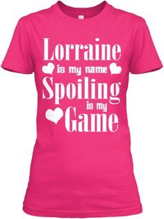 Lorraine Is My Name Heliconia T-Shirt Front