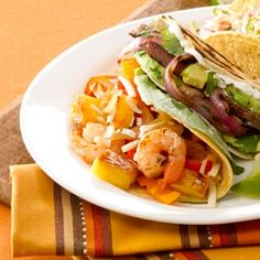 Pineapple Shrimp Tacos Looks and sounds good, I'm going to try this. The one review was good, but they suggested adding more seasonings and pineapple!