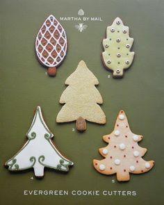 Evergreen Cookies
