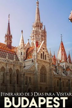 las mejores cosas que hacer en Budapest en 3 días Eurotrip, Eastern Europe, Barcelona Cathedral, Places To Go, Building, Travel Blog, Hungary, Tips, Travel Tips