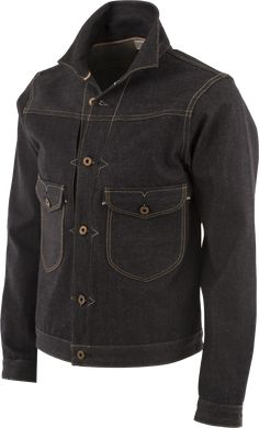 Probably the best denim jacket we've ever seen: the Cattleman from Rising Sun.