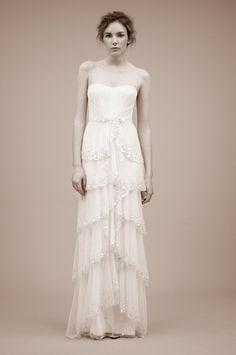 Jenny Packham Vintage Wedding Gown Spring 2011 |Shibawi Wedding Dress Jenny Packham Vintage Gown Spring 2011