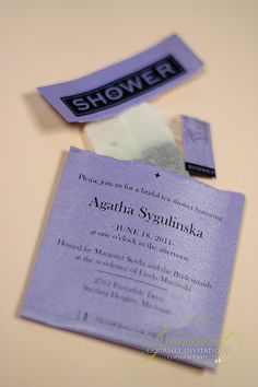tea party shower invitations, shower invitation for tea party! Now I need to have a tea party...