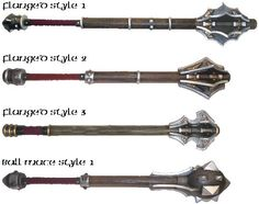 Medieval Weaponry and names | references www ironliege com graphics nonlatexweapons mace 20group1 ...