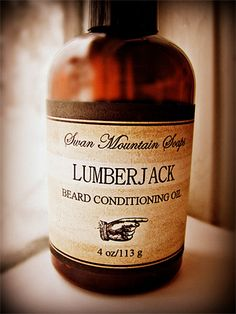 Lumberjack Beard and Moustache Conditioning Oil at werd.com