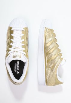 wholesale dealer e34ce e8599 adidas Originals SUPERSTAR - Trainers - gold metallic white for with free  delivery at Zalando