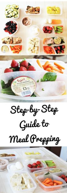 Step-By-Step on How to Meal Prep, even when you have no clue how! Meal prepping, meal planning, how to meal prep, beginners guide to meal prep.