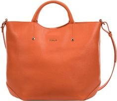 furla Alissa | Furla Alissa Tote in Orange - Lyst