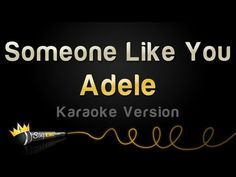 Adele - Someone Like You (Karaoke Version)