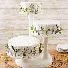 Wilton Three-Tier Pillar Cake Display Stand – Famous Last Words Cake Stand Display, 3 Tier Cake Stand, Tiered Stand, Wedding Cake Display, Diy Cake Stand Wedding, Cake Stand Decor, Tiered Cake Stands, Dessert Stand, Small Wedding Cakes
