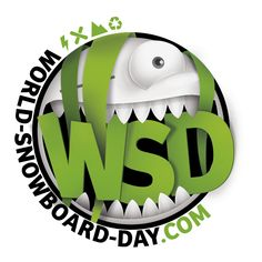 World Snowboard Day Official Logo
