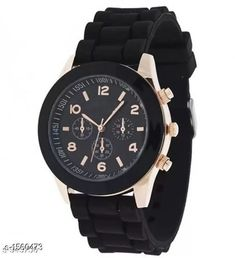 Checkout this latest Chronograph Watches Product Name: *Analog Leather Wrist Watches For Women* Strap Material: Leather Date Display: No Dial Design: Solid Display Type: Analog Dual Time: No Gps: No Light: No Power Source: Battery Powered Multipack: 1 Sizes:  Free Size Country of Origin: India Easy Returns Available In Case Of Any Issue   Catalog Rating: ★4 (870)  Catalog Name: Elegant Analog Leather Wrist Watches Vol 1 CatalogID_202922 C72-SC1087 Code: 922-1560473-714