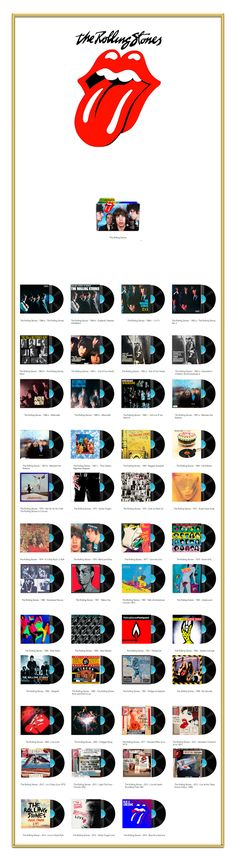 Album Art Icons: The Rolling Stones Discography Folders (ICO & PNG)