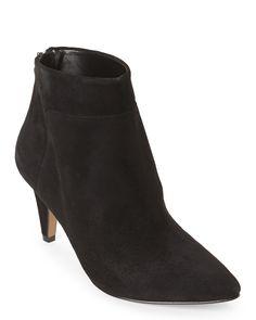 Nine West Black Jinxie Ankle Booties