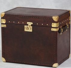 Leather Trunk at Dansk