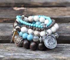 Layer on the Bracelets   Handmade beaded bracelets by Bead Rustic