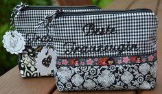 Brauttaschen - ♥ Beste Trauzeugin♥ Schminktäschchen ♥ Hochzeit ♥ - ein Designerstück von KleinesLieschen bei DaWanda