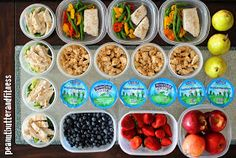 PEANUT BUTTER AND FITNESS: Meal Prep Mondays - Experimenting with 5 Meals a Day