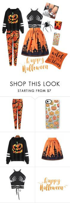 """""""Halloween inspiration 2017"""" by wendyfashion on Polyvore featuring WearAll, Casetify and WithChic"""